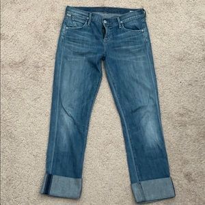 Citizens Of Humanity Jeans - CITIZENS OF HUMANITY Cropped Straight Leg Jeans